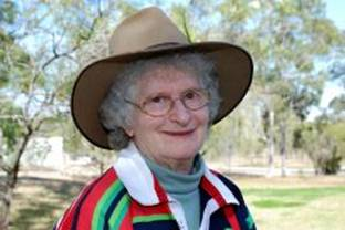 PhotoID:4656, Shirley Hopkins has had a long association with Central Queensland University.